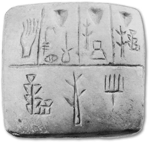 Ancient Pictographs From Mesopotamia The unfolding script of speech ...